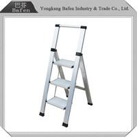 alibaba China wholesale easy folding aluminium quick step ladder
