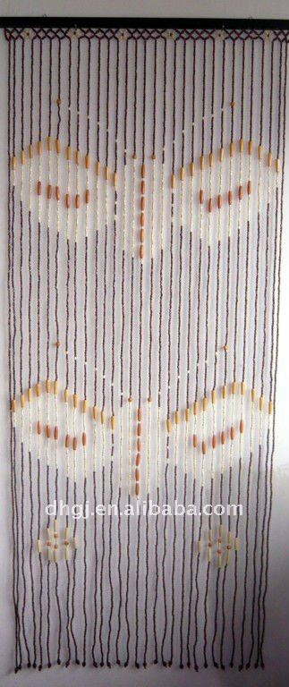 90200cm 31strands Wood Bead Curtains