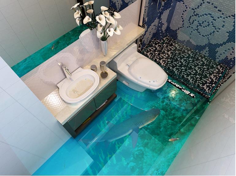 Waterproof Bathroom Walllpaper: Popular Waterproof Wallpaper For Bathroom-Buy Cheap