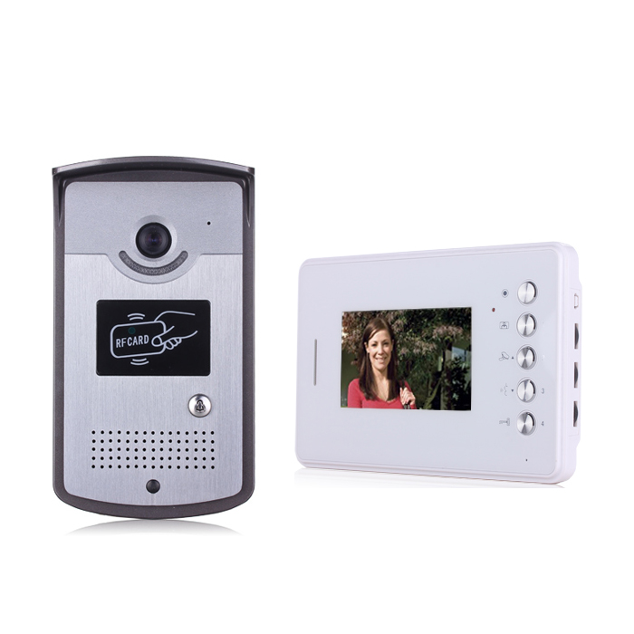 Hot selling Low Price multi apartment IP wired video intercom system Home color video door phone
