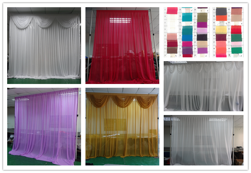 Curtains Ideas curtain rod singapore : Colorful Backdrop Curtain Rod Pipe And Drape Backdrop Pole Stand ...