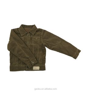 Wholesale cheap price children jacket boys 100% cotton coat