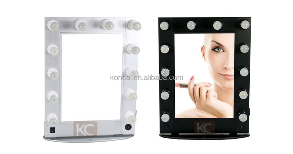 Hollywood Style Makeup Mirror With Led Lights,Lighted Makeup ...