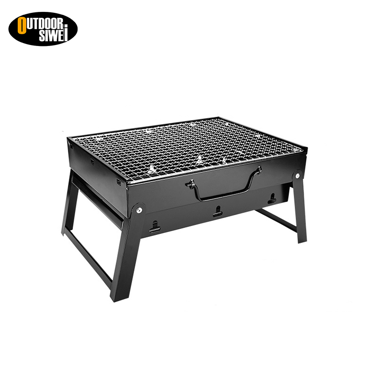 popular BBQ cast iron charocoal restaurant equipment can oil drum grill