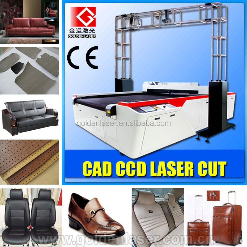 Genuine Leather/Natural Leather Pattern Laser Cutter Machine