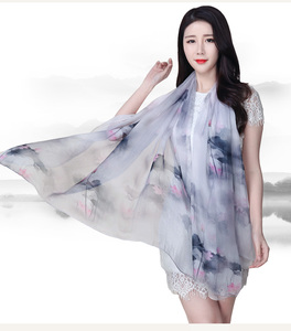 Tudung malaysia silk chiffon scarf manufacturers pashmina custom printed scarves for wholesale scarf 2016 women