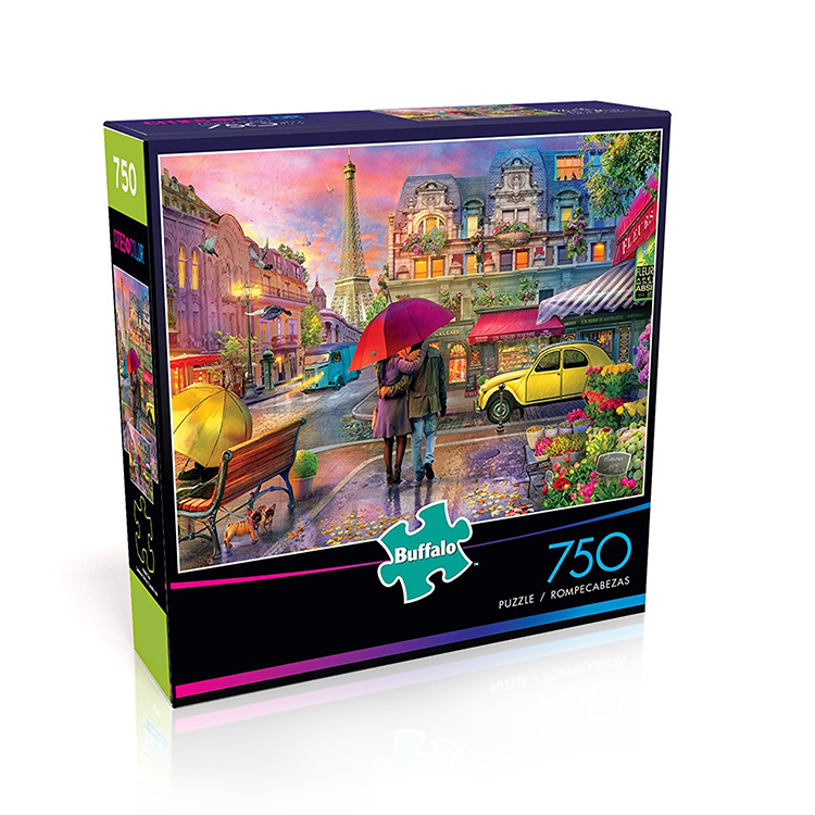 2020 Hot Sale Jigsaw Puzzle Game 2000 Potongan Teka-teki Kertas
