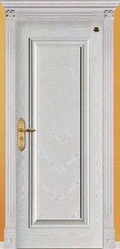 Cheap bedroom engraved wooden doors
