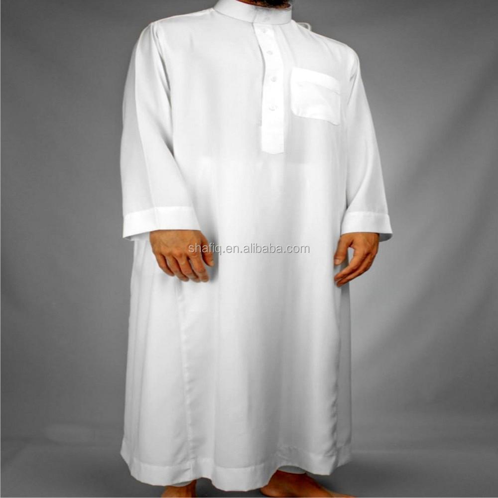 Kain Dan Arabian Thobe Dengan Jepang Toyobo Bordir Fashion Pria Jubah  Dengan Quanlity Terbaik Desain Terbaru - Buy Thobe Dengan Jepang Kain,Baju