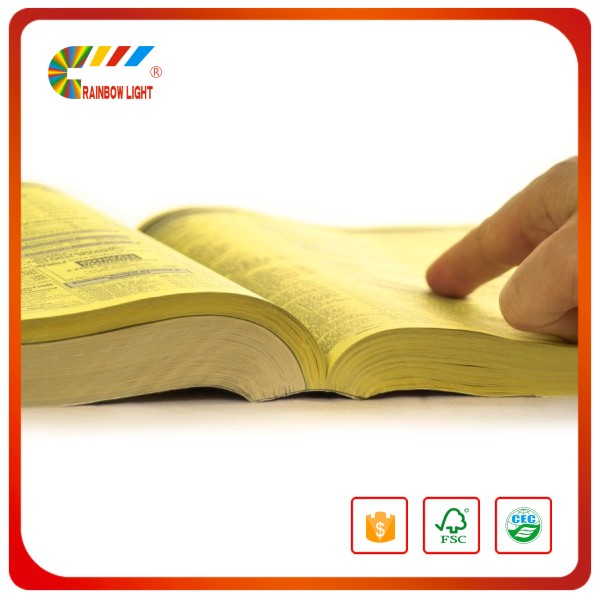 Good quality cheap custom book printing/flyer printing/yellow pages printing