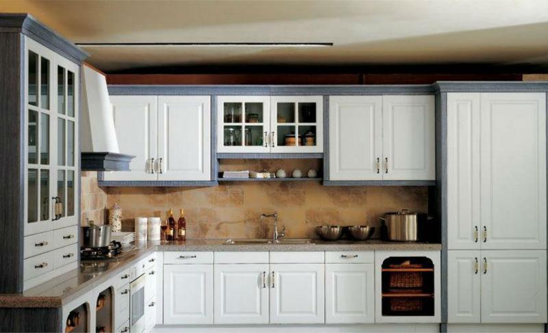 Keukenkast Wit Hoogglans : Foshan lak gespoten keukenkast wit hoogglans laminaatvloer buy
