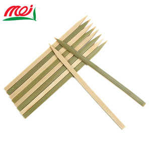 craft flat bamboo skewer bbq stick