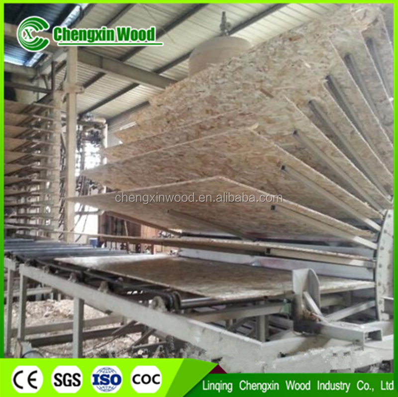 Oriented Strand Boards(OSB) Slab Structure and Excellent Grade osb board