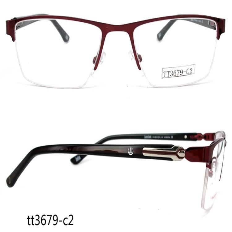 TT3679 Business Style No Bottom Border Glasses Frames For Men, View ...