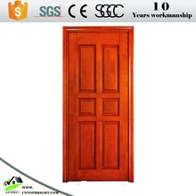 Good quality mahogany solid core wood interior wood door