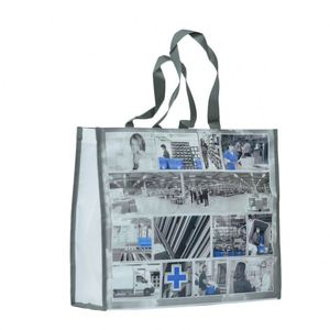 Customized New green bag made of pe laminate recycling material