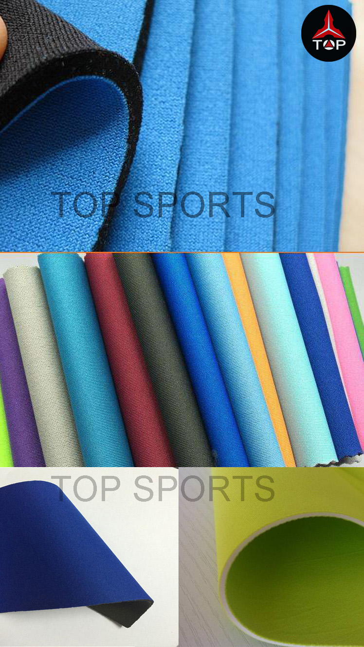 1~10mm Wetsuit Material Neoprene with polyester Fabric Coated