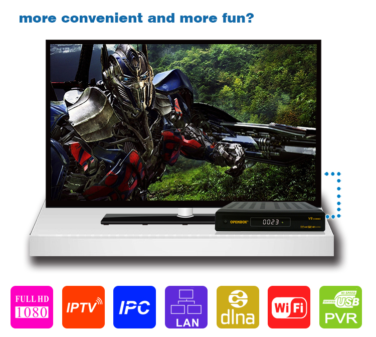 Combo Dvb-s2 T2 Original Tiger T800 Full Hd 1080p Satellite ...