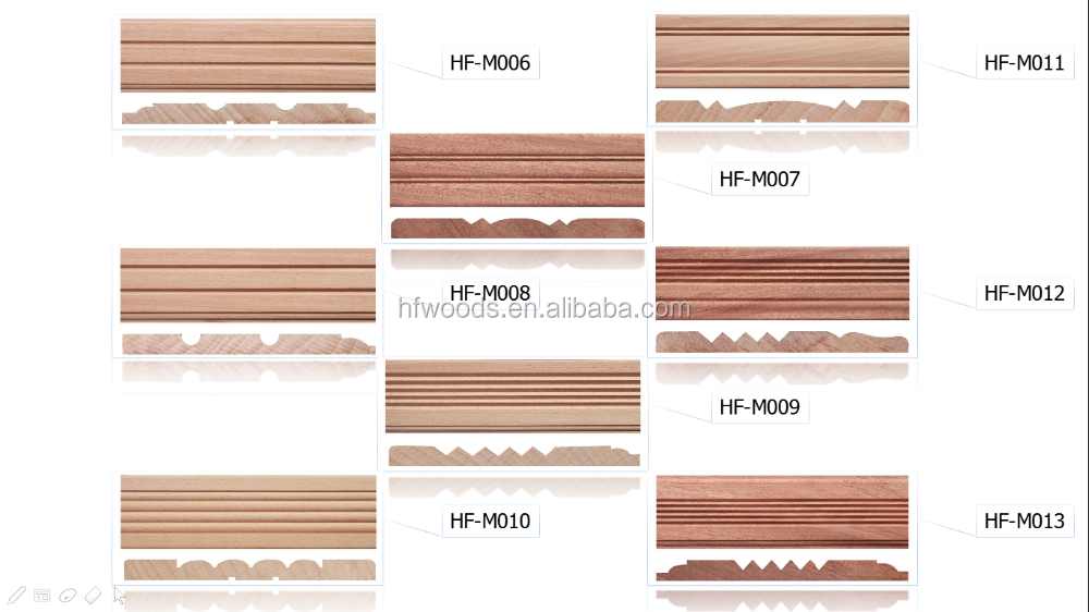 maple concrete molds decorative wood furniture trim