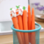 Cute Rabbits and carrots Modeling 0.5mm plastic pen for kids gift