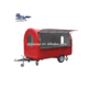 JX-FR300WD Outdoor food truck usati vendita mobile kitchen truck churros food trailer