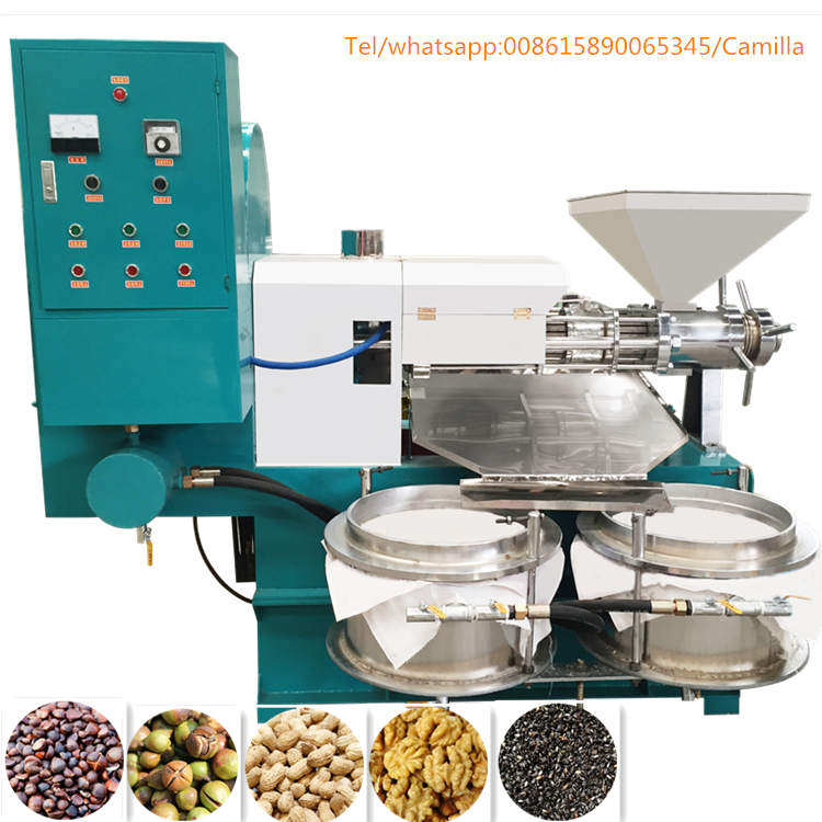 reasonable price cotton seeds/castor/coconut oil press machine in pakistan