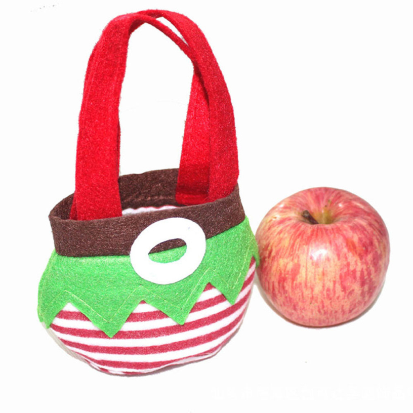 Best Deal New Good Quality Lovely Cute Christmas Decoration Supplies Lunch Bag Gift Bag 1PC
