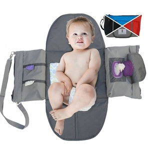 Newborn Travel Essential 3 in 1 Portable Baby Diaper Bag Changing Pad