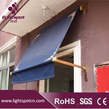 triple aluminum awning window/french window awning/french awning windows and doors