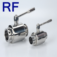 RF Food Grade Sanitary Stainless Steel 4 inch ball valve