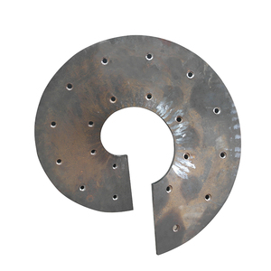 Manufacturer supply soya stainless steel helical Shaftless screw blade