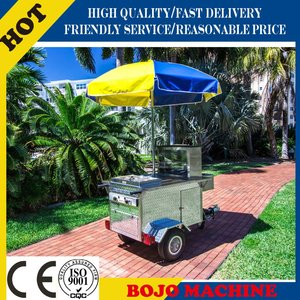 HD-80B bike hot dog trailer/electric hot dog cart /truck and dog trailers