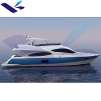 77ft High Quality Fiberglass Luxury Sport yacht/boat
