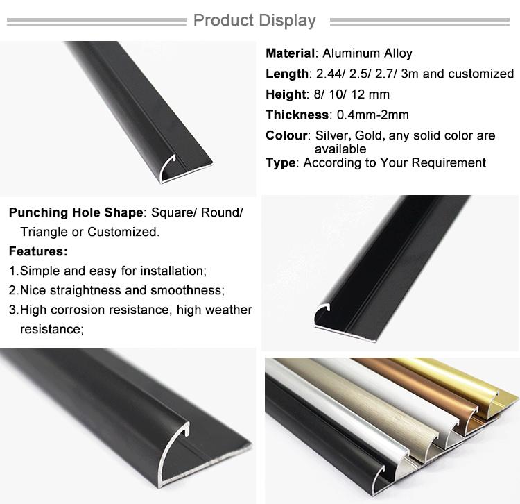 Aluminum Wall Trim Construction Materials Building