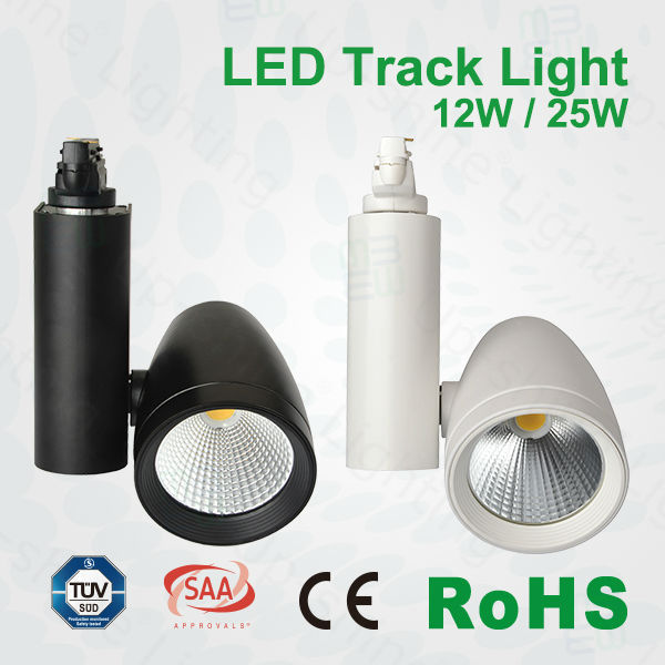 Led light jewellery shop spot light 50w led track light with CE RoHS TUV certificates