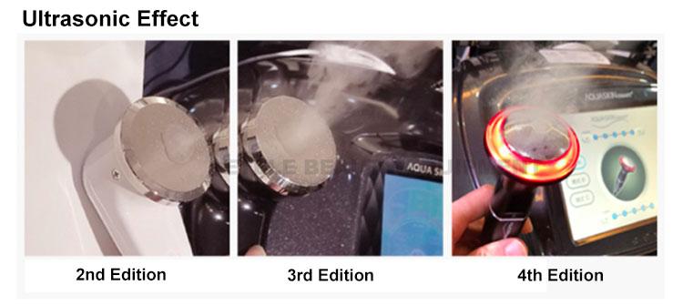 Factory price facial scrub microcurrent machines face lift rf ultrasound beauty machine