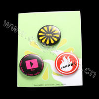 Permanent Type Magnetic brand logo clothing badge