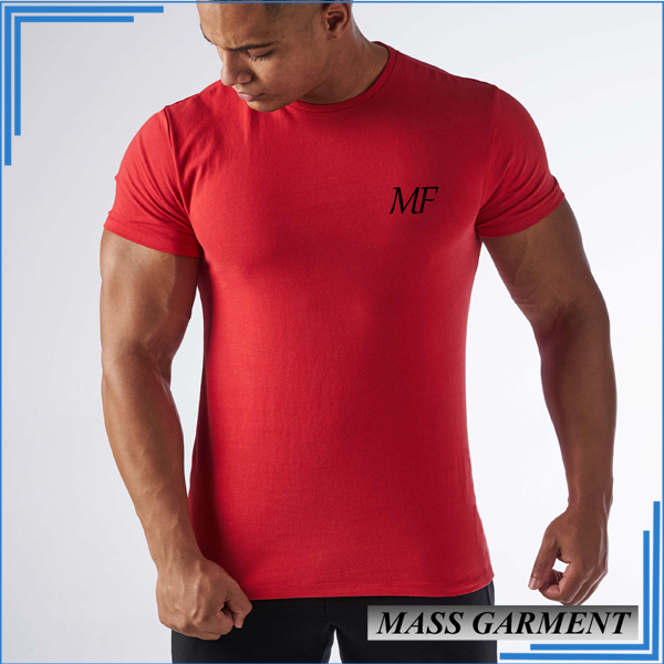 39a96674 Dry Fit T Shirt Hot Sell Gym Sport Cotton Polyester T Shirt Made In China