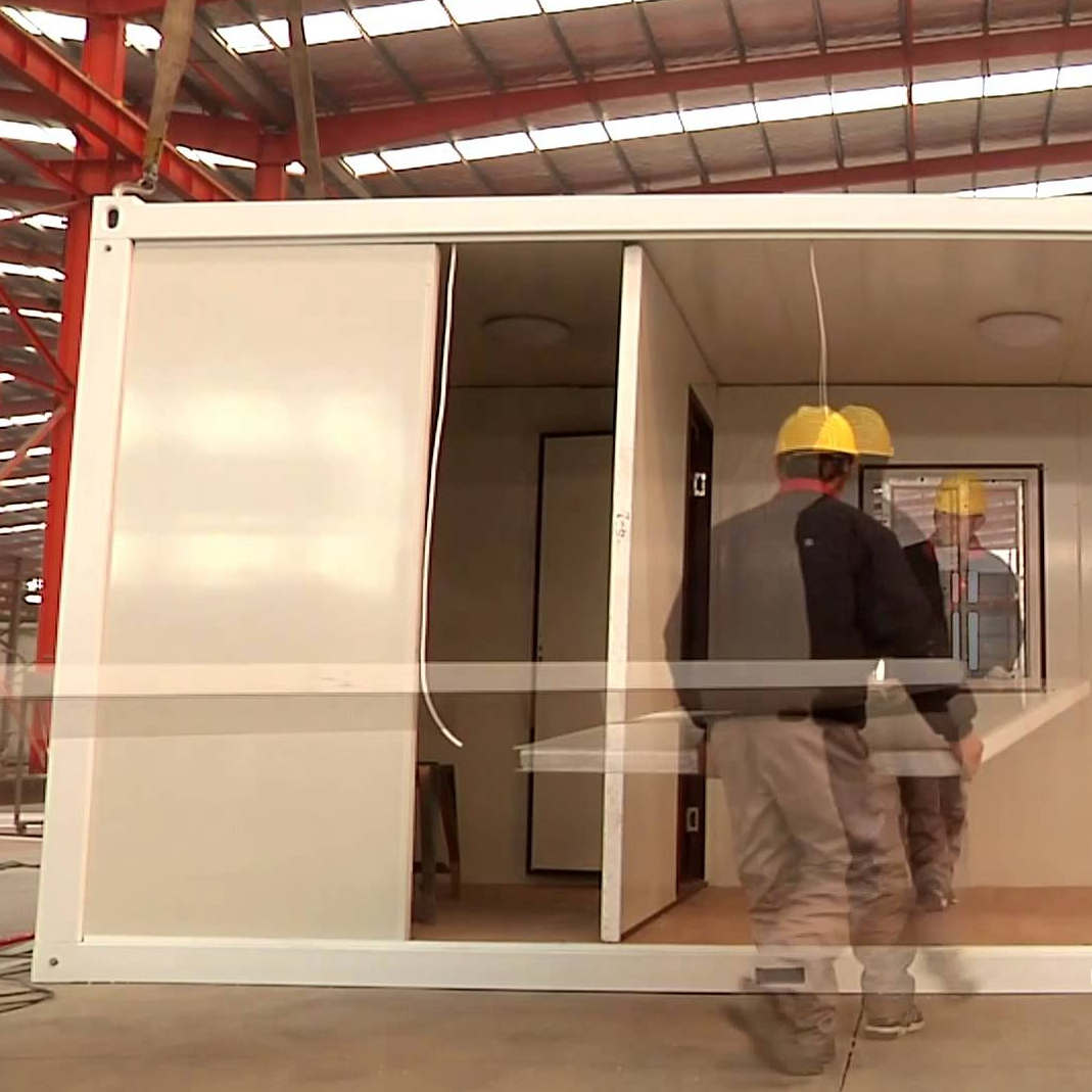 new style low cost flat pack storage containers 20ft 40ft prefabricated bathroom pods portable