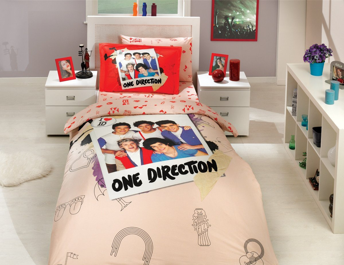 Get Quotations · One Direction   Licenced Original Duvet/Comforter Cover Set    Twin Size   100%