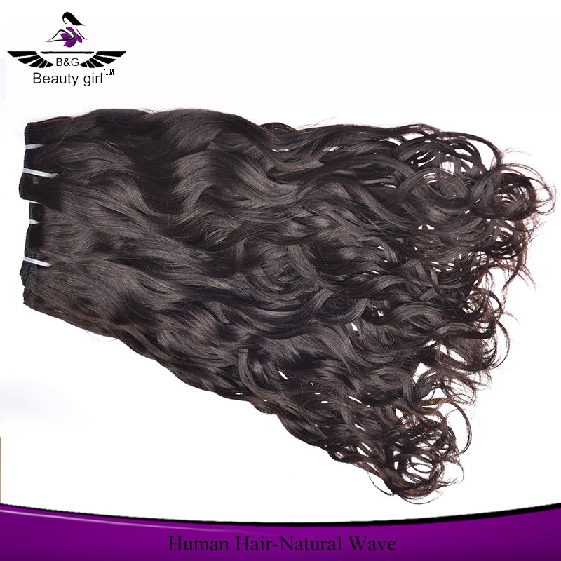 wholesale oker brand hair black star no tangle no shed lily human hair weave