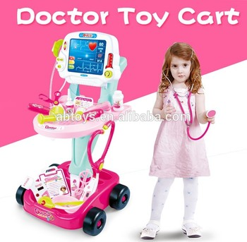 2017newly Kids Doctor Kits Cart Toys Play Doctor Set Buy Doctor