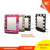 Professional lighting makeup mirror, salon mirror, standing mirror with aluminum frame and 4pcs bulbs