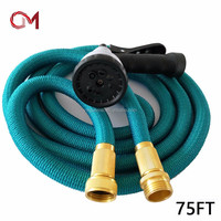 New arrive brass connector shower hose extension coiled gardening pipe holder shrinking garden hose