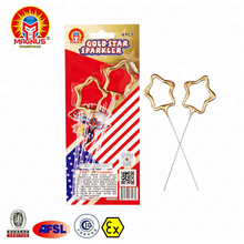 GOLD STAR Magnus Product 1.4G UN0336 Consumer indoor shaped electric sparklers Fireworks