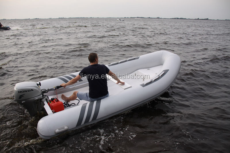 Liya small rigid inflatable boat inflatable boat for Dinghy motor for sale
