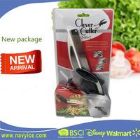 Kitchen Multi-Function Cutter 2-in-1 Knife & Cutting Board Scissors Slicers