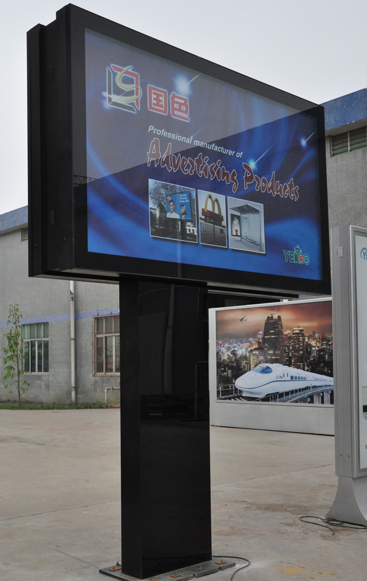 Our Factory Manufacture Outdoor Billboard Metal Sign Light Frame Aluminium Scrolling Light Box