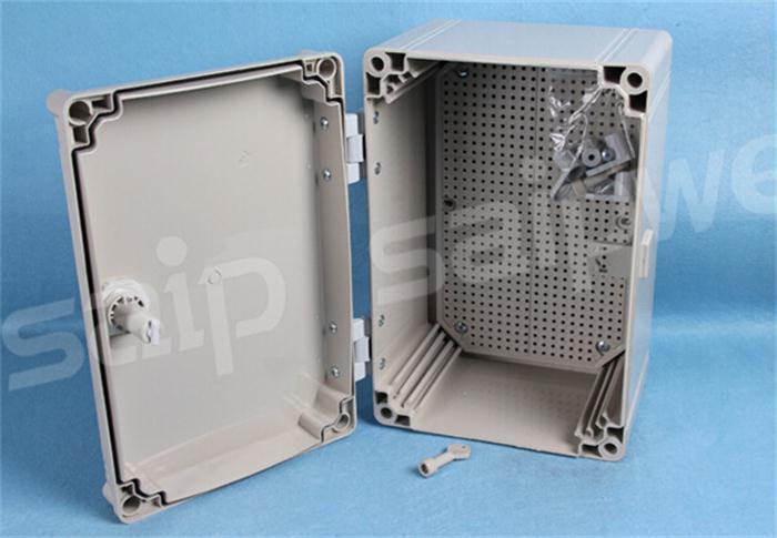 SAIP SAIPWELL High Quality 500400190mm Waterproof PC Plastic Electrical Panel Box