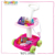 new design 38pcs fashion cooking game kids kitchen set toy with light